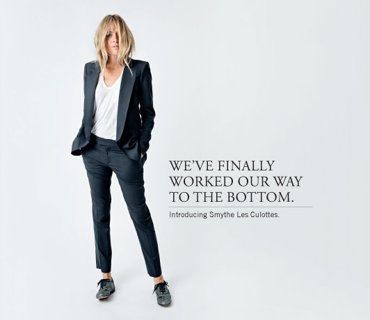 Smythe Spring 2013 Collection, now with pants - browse it now