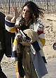 Shenae Grimes in HBC Coat